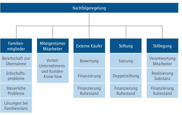 Zwischen Psychologie und höherer Finanzmathematik - Potentielle Nachfolgelösungen